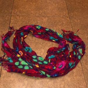 Flower scarf!